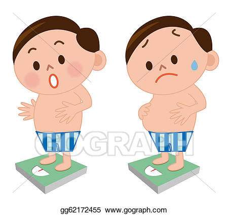 Weight clipart body weight. Stock illustration measurement of