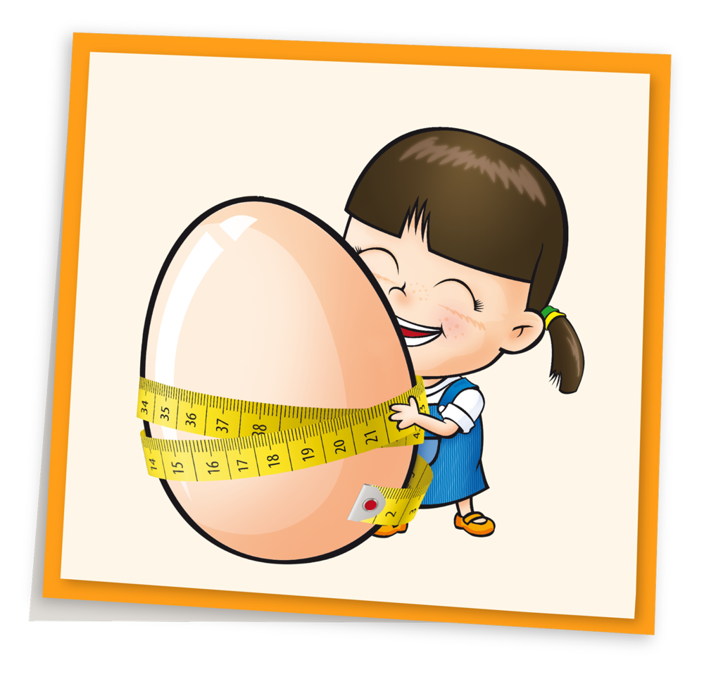 Eggs can help you. Weight clipart boy