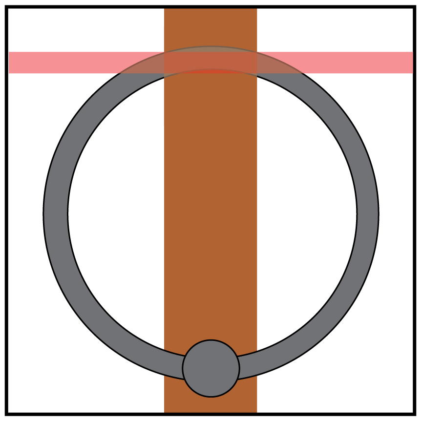 Weight clipart curved barbell. Rings are not the