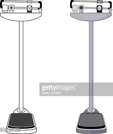 Weight clipart doctor scale. S premium clipartlogo com