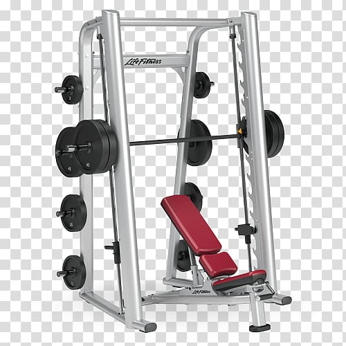 Smith machine bench life. Weight clipart exercise tool
