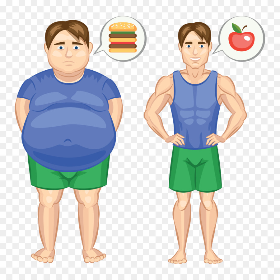 Obesity cartoon png download. Weight clipart fat loss