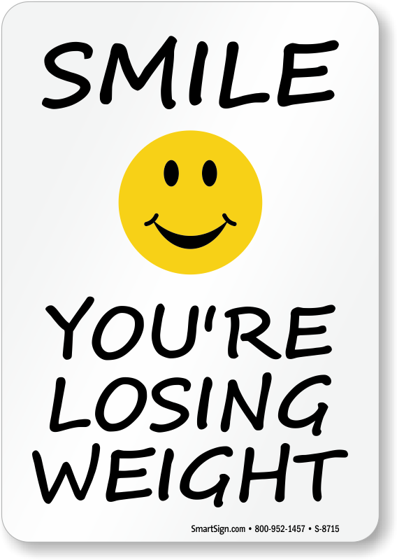 Weight clipart fitness center. Smile you are losing
