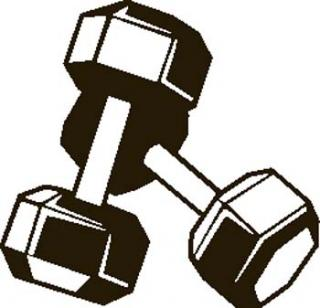 Power hour adult new. Weight clipart fitness class