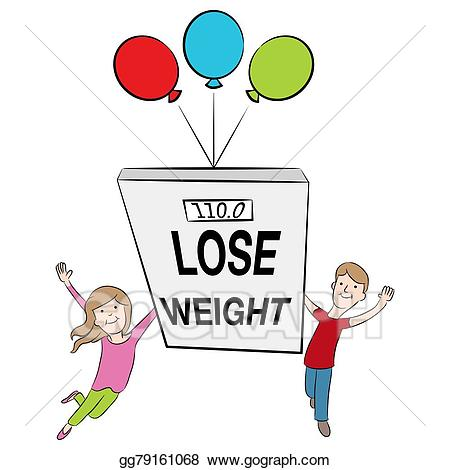 Weight clipart healthy patient. Eps illustration kids supporting