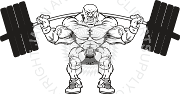 Weight clipart heavy weight. Lifting