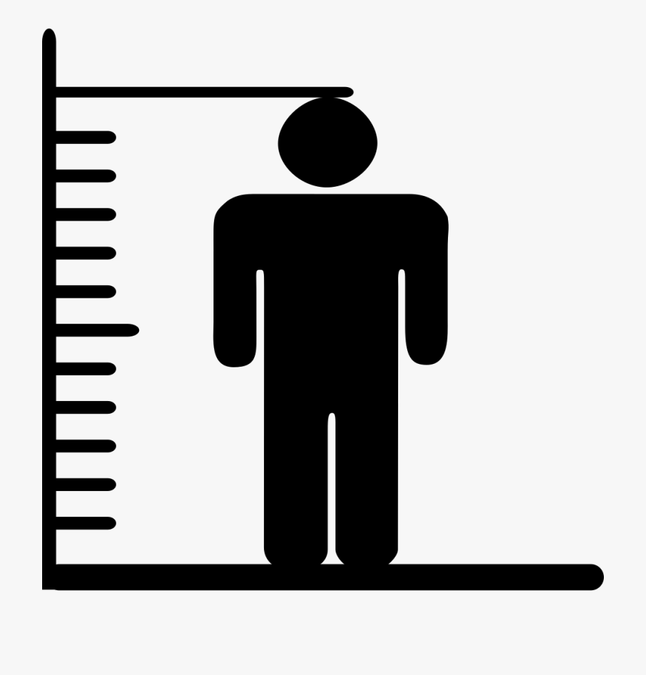 And svg png icon. Weight clipart height weight