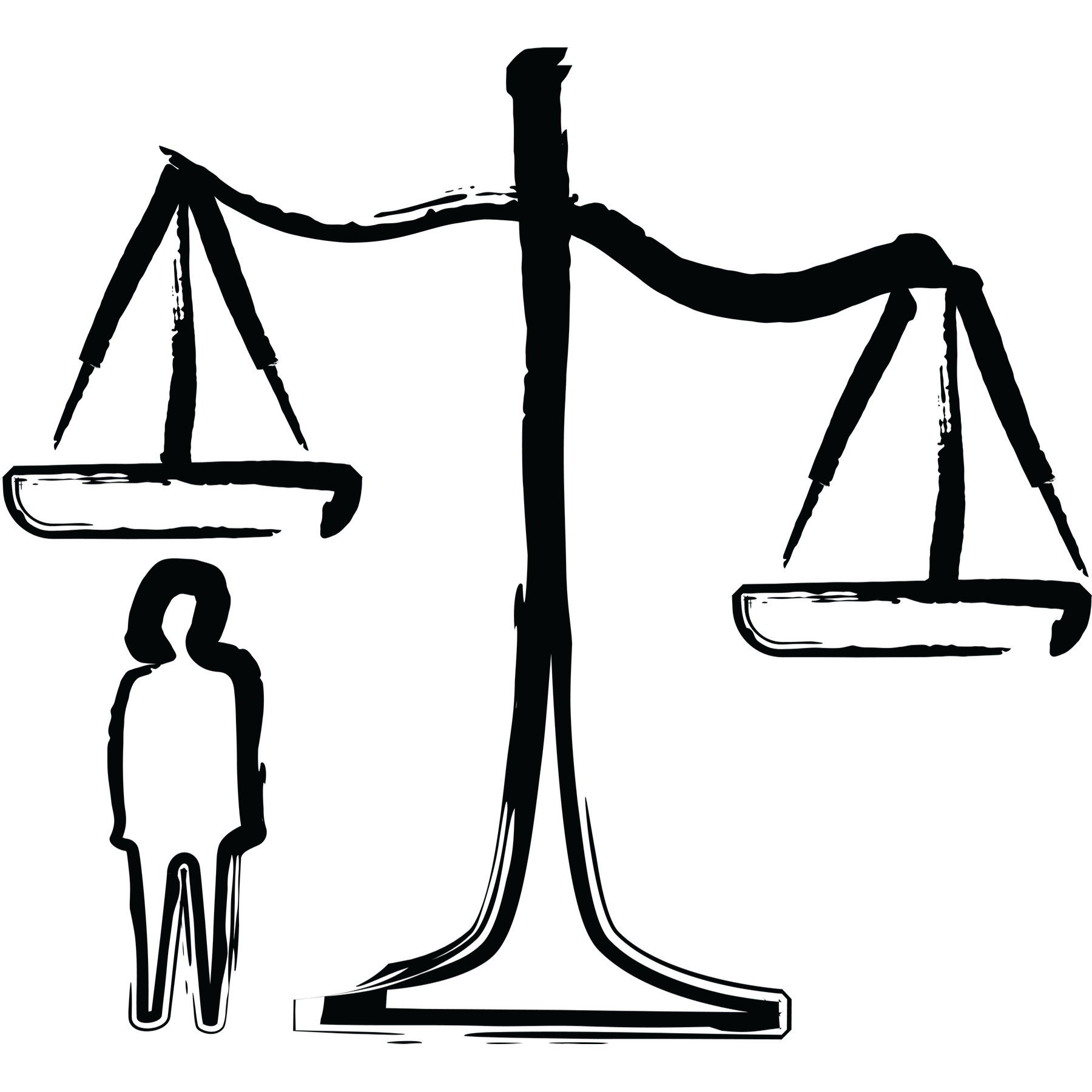 Balance power free on. Weight clipart injustice