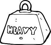 Weight clipart metal. Cartoon heavy panda free