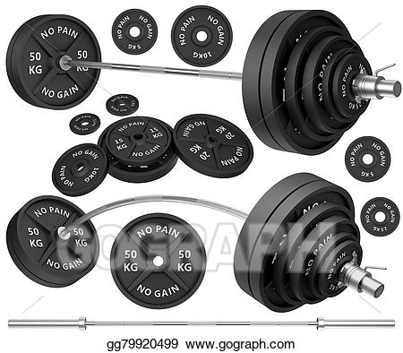 Stock illustration shots of. Weight clipart metal