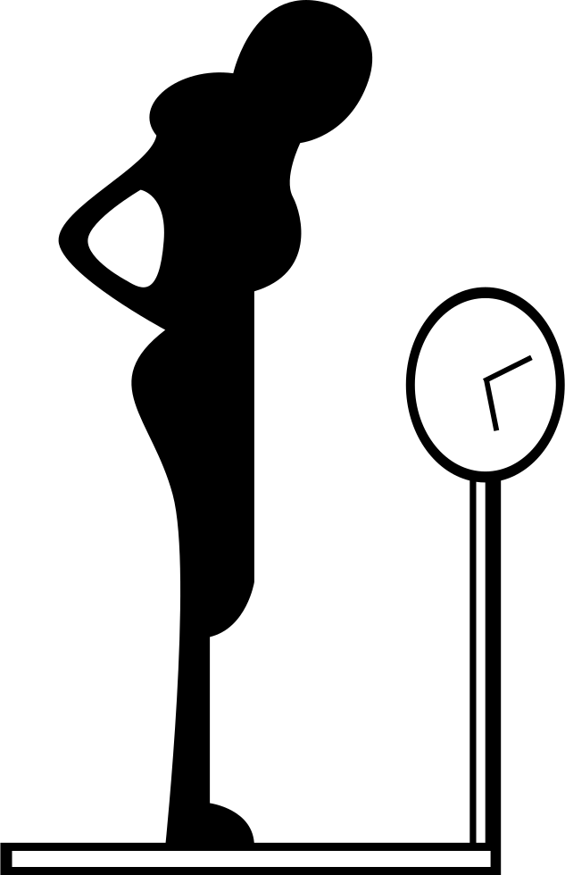 Female body svg png. Weight clipart normal weight