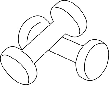 Free cliparts download clip. Weight clipart small