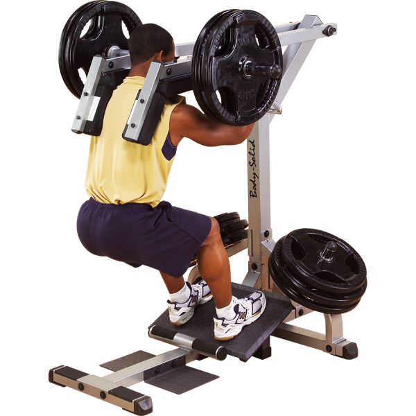 Weight clipart squat rack. Body solid leverage calf