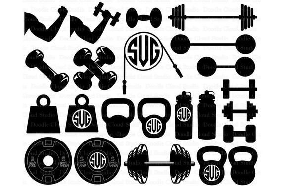 Weight clipart svg. Weights files lifting for