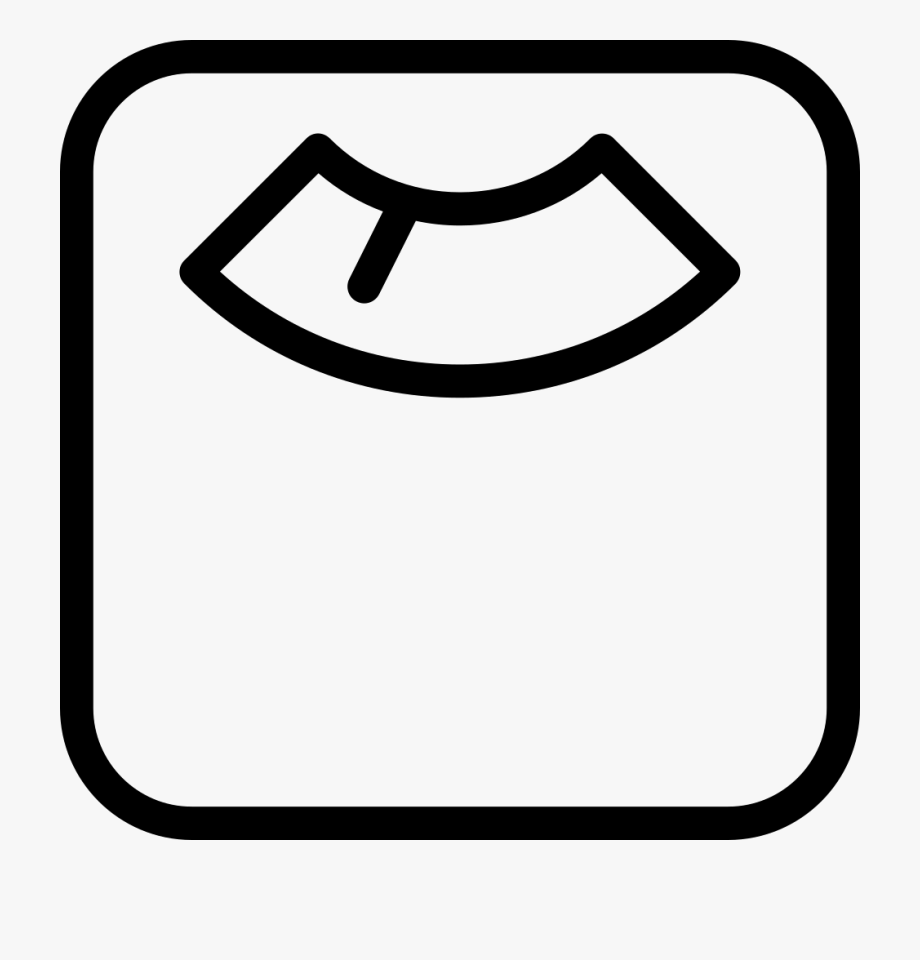 Weights icon line png. Weight clipart svg