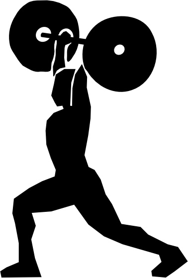 Lifting clip art free. Weight clipart vector