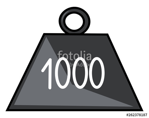 Weight clipart weighs. Of kg kilogram vector