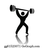Weightlifting clip art royalty. Weight clipart wieght