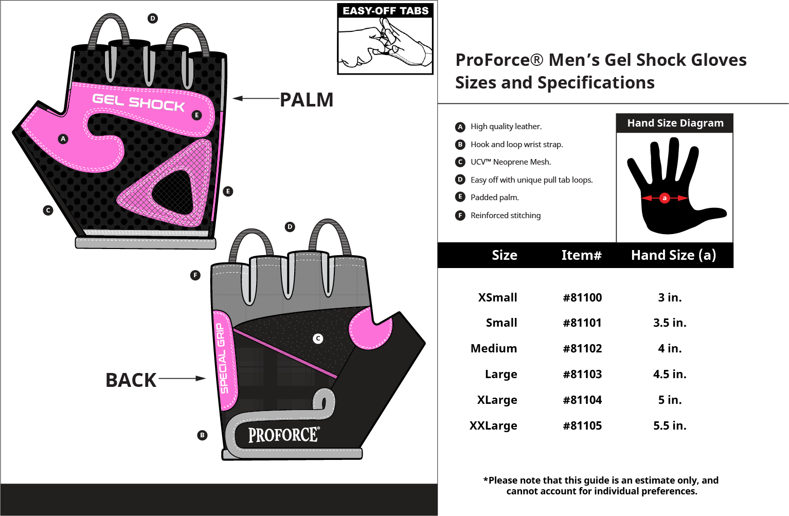 Proforce fitness lifting gloves. Weight clipart workout gear