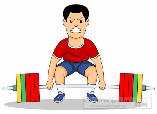 Weightlifting clipart. Sports free to download
