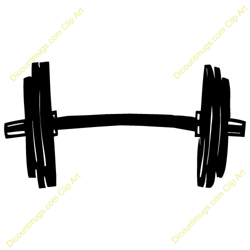 Station . Weights clipart