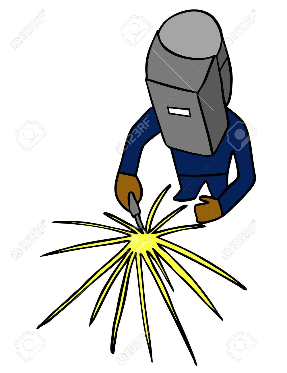 Sparks . Welding clipart