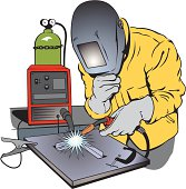 Welding clipart. Free mig and vector