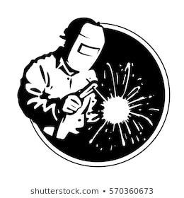 Welding clipart black and white. Portal