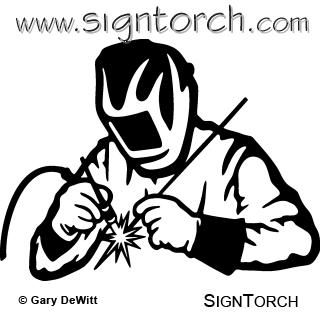 Awesome vector tig art. Welding clipart gambar
