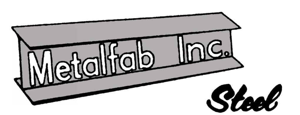 Welding clipart steel fabrication. Metalfab inc