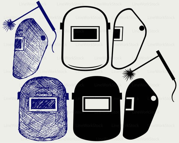 Helmet svg . Welding clipart welding mask