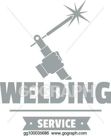 Welding clipart welding workshop. Eps vector logo simple