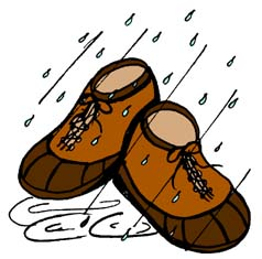 Shoes . Wet clipart