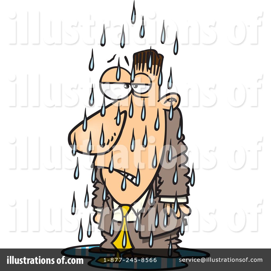 Wet clipart. Person