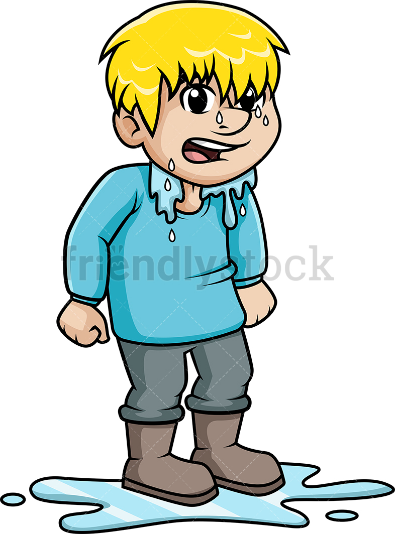 Person cliparts making the. Wet clipart animated