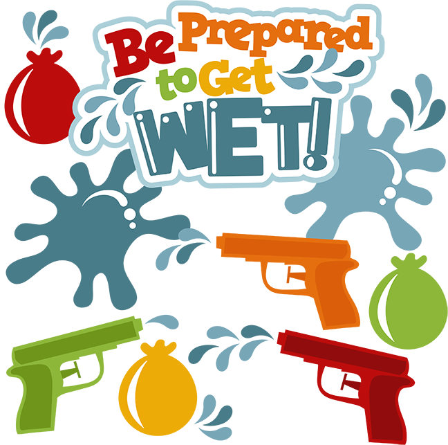 Wet clipart drenched. Be prepared to get