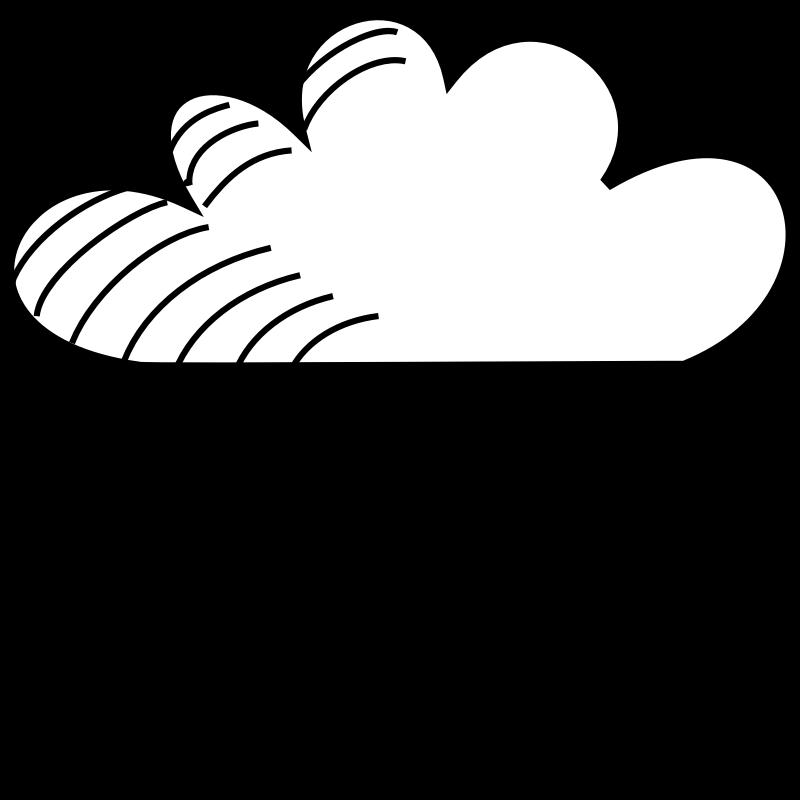 Wet clipart rain clipart. Free cloud pictures download