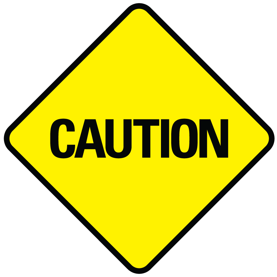 Wet clipart slippery floor. Caution sign transparent png
