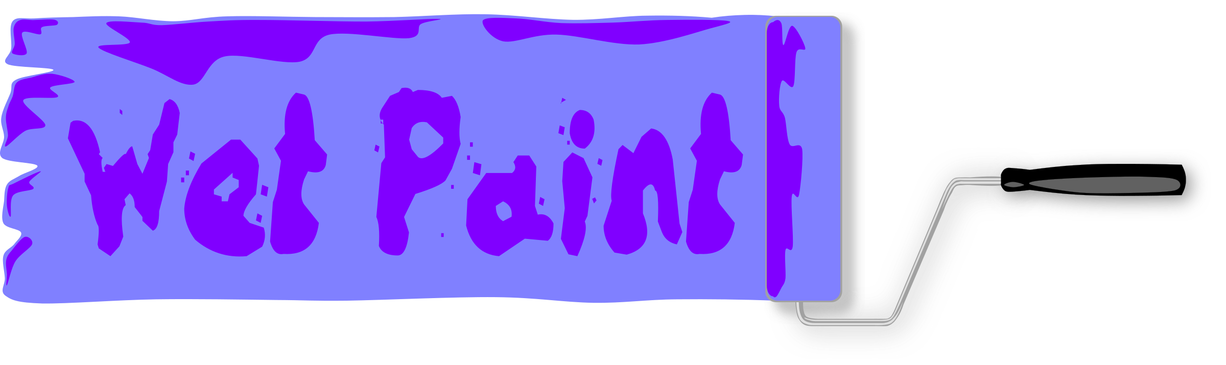 Paint sign icons png. Wet clipart slippery floor