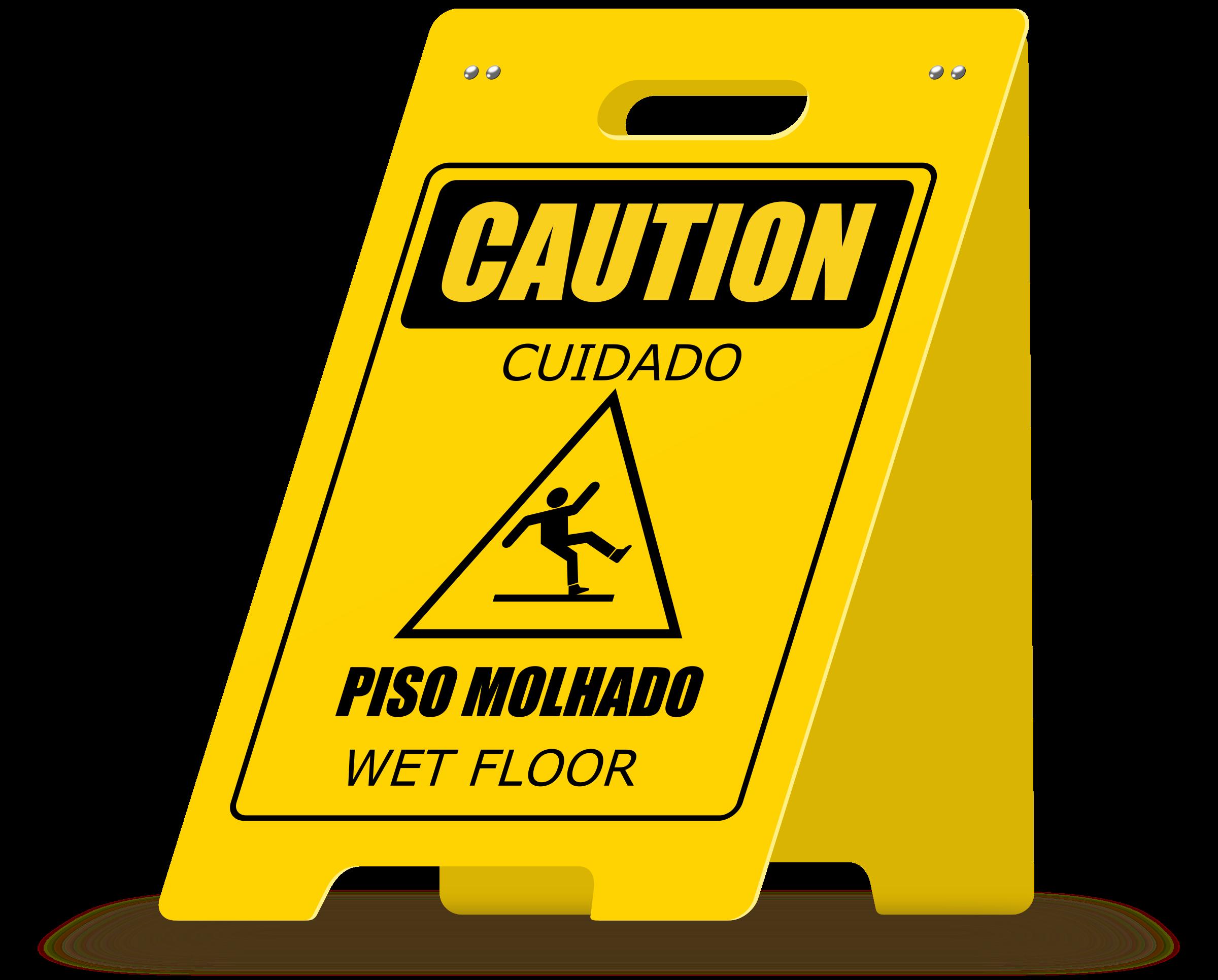 Wet clipart slippery floor. A frame big image