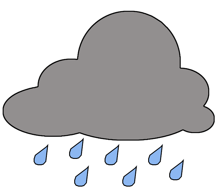 Wet clipart under weather. Clip art by phillip