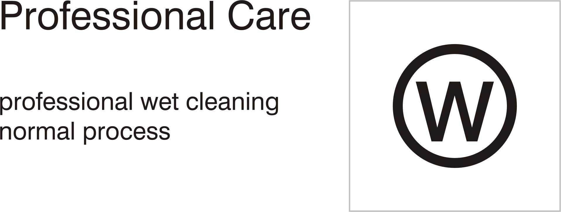 Care symbols professional clean. Wet clipart wet dry