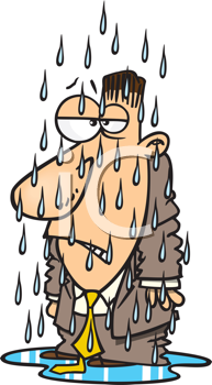 Royalty free image of. Wet clipart wet man