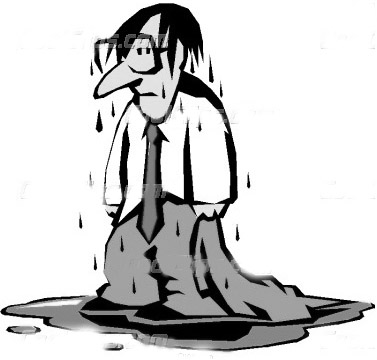 Person clip art library. Wet clipart wet man