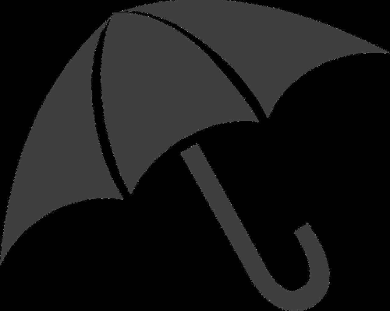 Wet clipart wet umbrella. Free image on pixabay