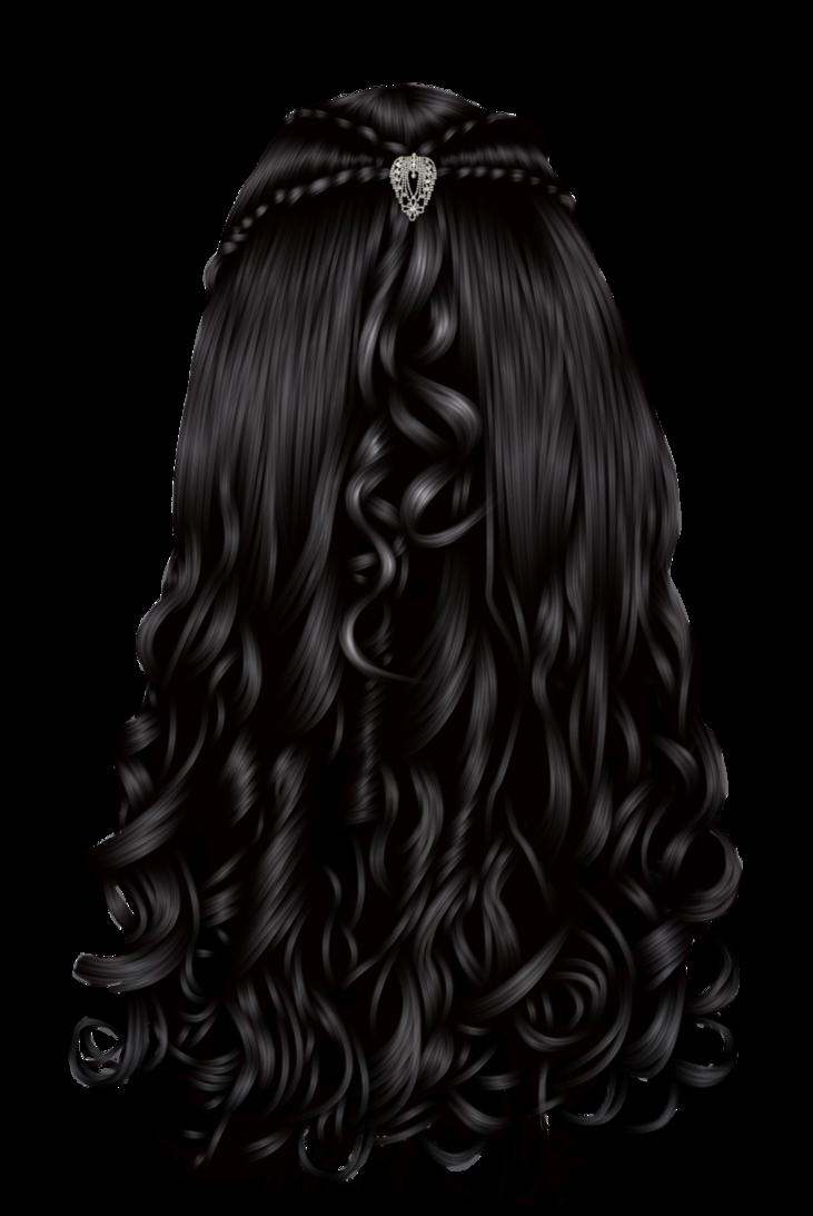 Wet clipart wig. Fantasy hair by hellonlegs