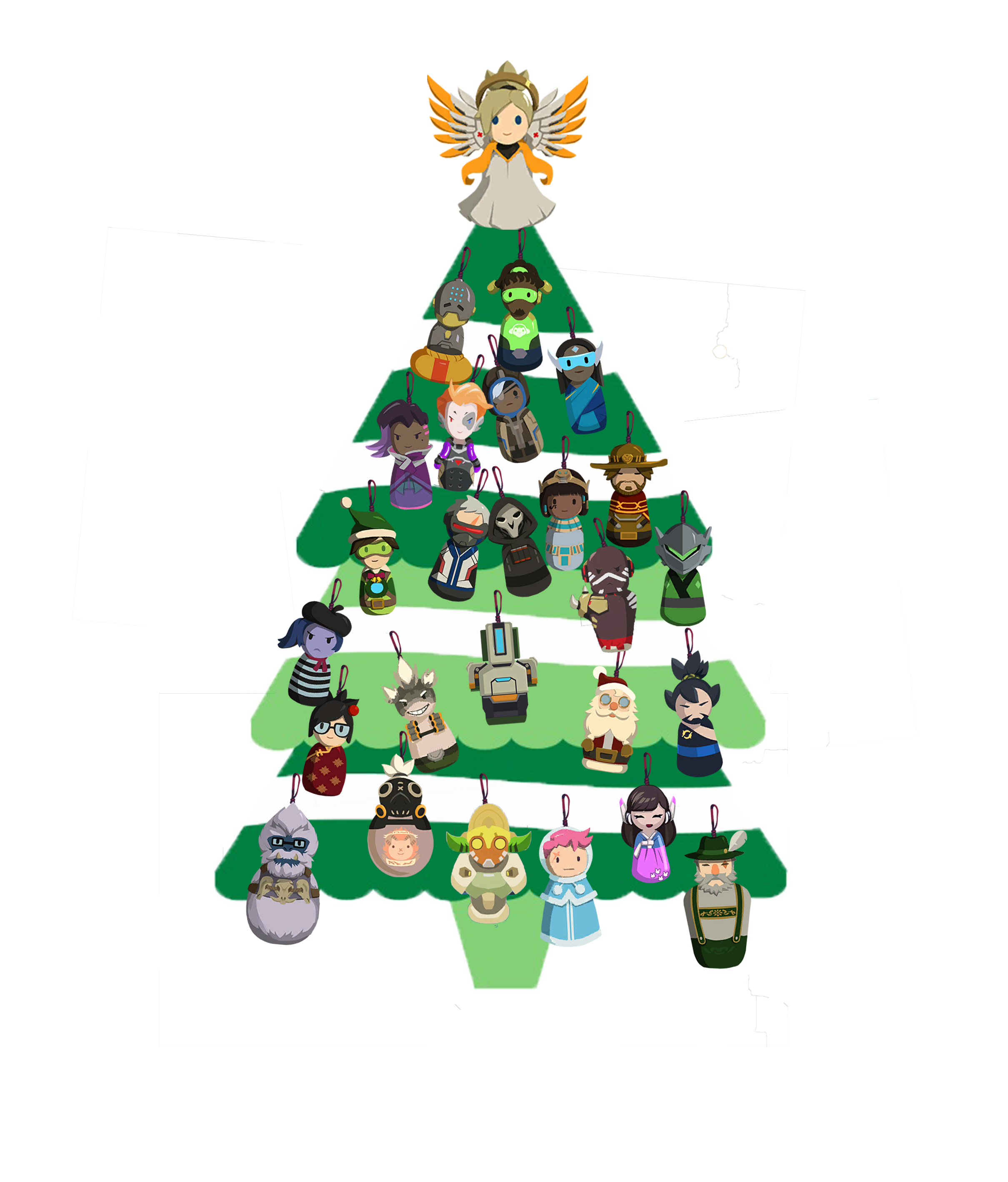 What is png in overwatch. Christmas tree album on