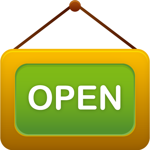 Shop open icon pretty. What opens png files
