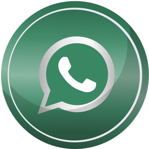 Whatsapp icon png. Social media round set