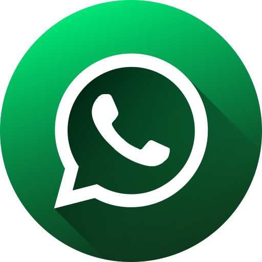 Social media circle long. Whatsapp icon png